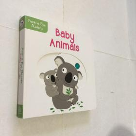 Peek-a-Boo Sliders Baby Animals
