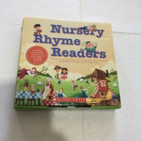 Nursery Rhyme Readers 押韵读物  童谣读物套装英文原版 盒装 分级阅读小学阶段(6-12岁)   12本加1CD   库存书