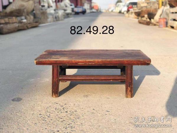 清代榆木小桌,全品,做工漂亮,皮壳老辣,年代感十足,尺寸82.49.28cm