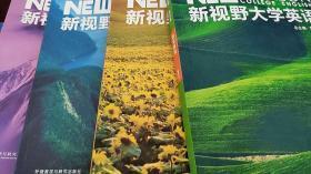 新视野大学英语读写教程第三版3版 1234 1-4册 郑树棠 一套4本