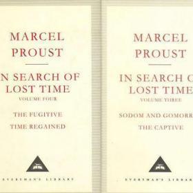 Marcel Proust:In Search of Lost Time 3-4 普鲁斯特 人人文库经典 无酸纸 深蓝布封 最好的英译本 Moncrieff, C. K. Scott