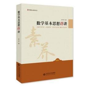 数学基本思想18讲 史宁中 北京师范大学出版社 9787303197606