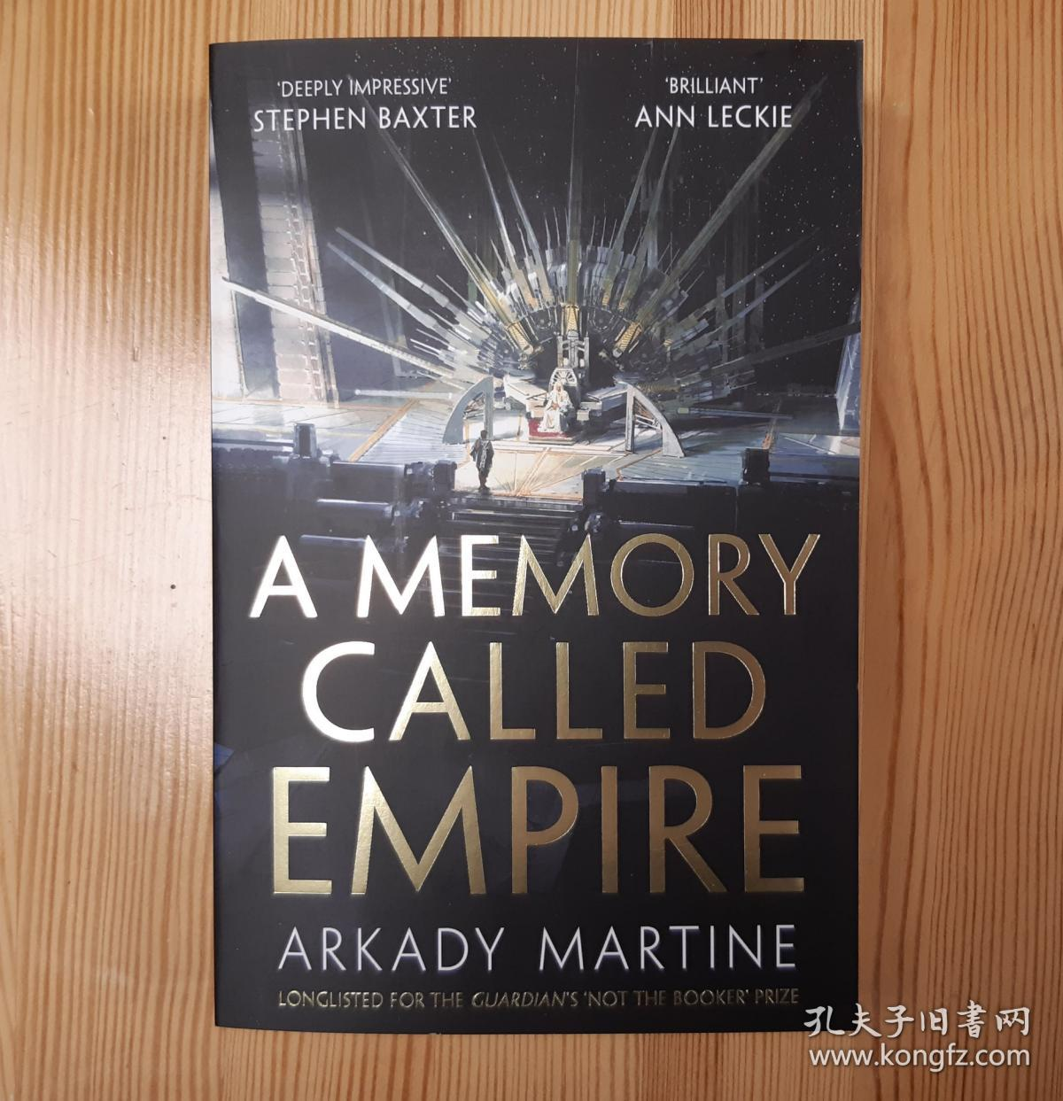预售帝国的回忆 英版平装 2020年雨果奖最佳长篇小说 阿卡迪·马丁 A Memory Called Empire : Winner of the 2020 Hugo Award for Best Novel  paperback