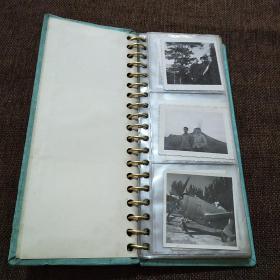 黑白照片   40多张带相册合售