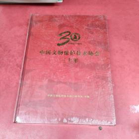 中国文物保护技术协会三十年【精装】