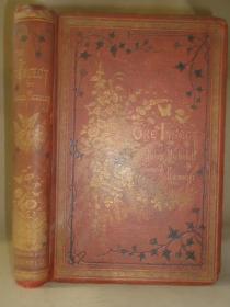 1875年 Jules Michelet  THE INSECT 《昆虫图记》珍贵初版本 布面满堂烫金大开本 大画家贾科梅利天量版画插图