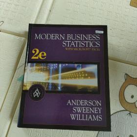 【外文原版】 MODERN BUSINESS STATISTICS 现代商业统计