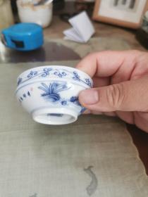 景德镇瓷13—手绘茶杯一个
