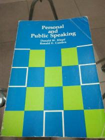 Personal and Public Speaking(个人和公开演讲)