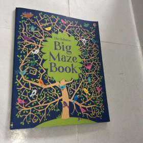Usborne原版Big Maze Book 儿童亲子趣味互动系列之小鸟 大迷宫1