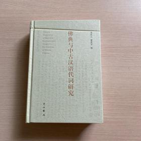 佛典与中古汉语代词研究(封面瑕疵,内十品)