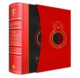 *重磅推荐收藏* 【预售优惠价】 [10月出版,10月下旬到货] The Lord of Rings 魔戒 红色皮脊装订 盒装 英国原装 精装