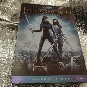 UNDERWOLD 1-3(黑夜传说三部曲) 美国原版铁盒包装3碟精装DVD 1080P