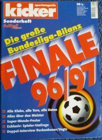 原版KICKER 96-97 德甲德乙赛季总结特辑