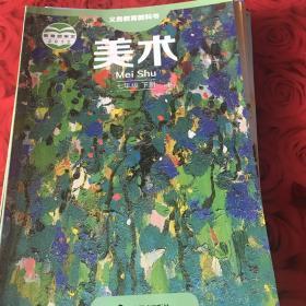 湘美版 初中美术七年级下册 湖南美术出版社 教科书教材课本 义务教育教科书美术