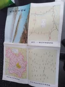 长沙市交通图   湖南省革命委员会测绘局编绘