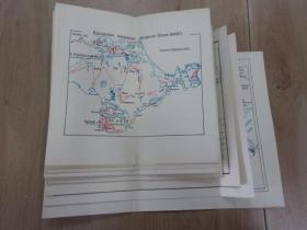 外文地图    散页  (共13页)  详见图片