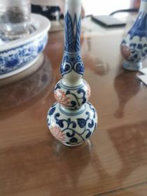 景德镇瓷14—小葫芦瓶一个