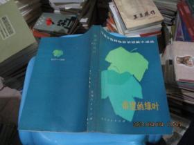 全国少数民族获奖短篇小说选:希望的绿叶    95-6号柜