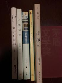李静睿作品五种:北方大道(签名本)、微小的命运、小镇姑娘、小城、小城故事