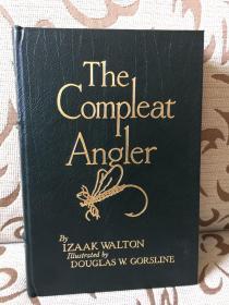 The compleat angler by Izaak Walton -- 伊萨克 沃尔顿《钓客清话》Easton Press 真皮珍藏版