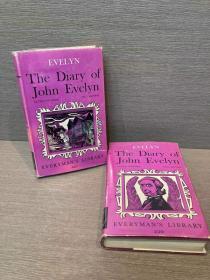 The Diary of John Evelyn(《约翰·伊夫林日记》两卷全,William Bray编,日记文学瑰宝,布面精装带护封,1966年老版人人文库,品好)