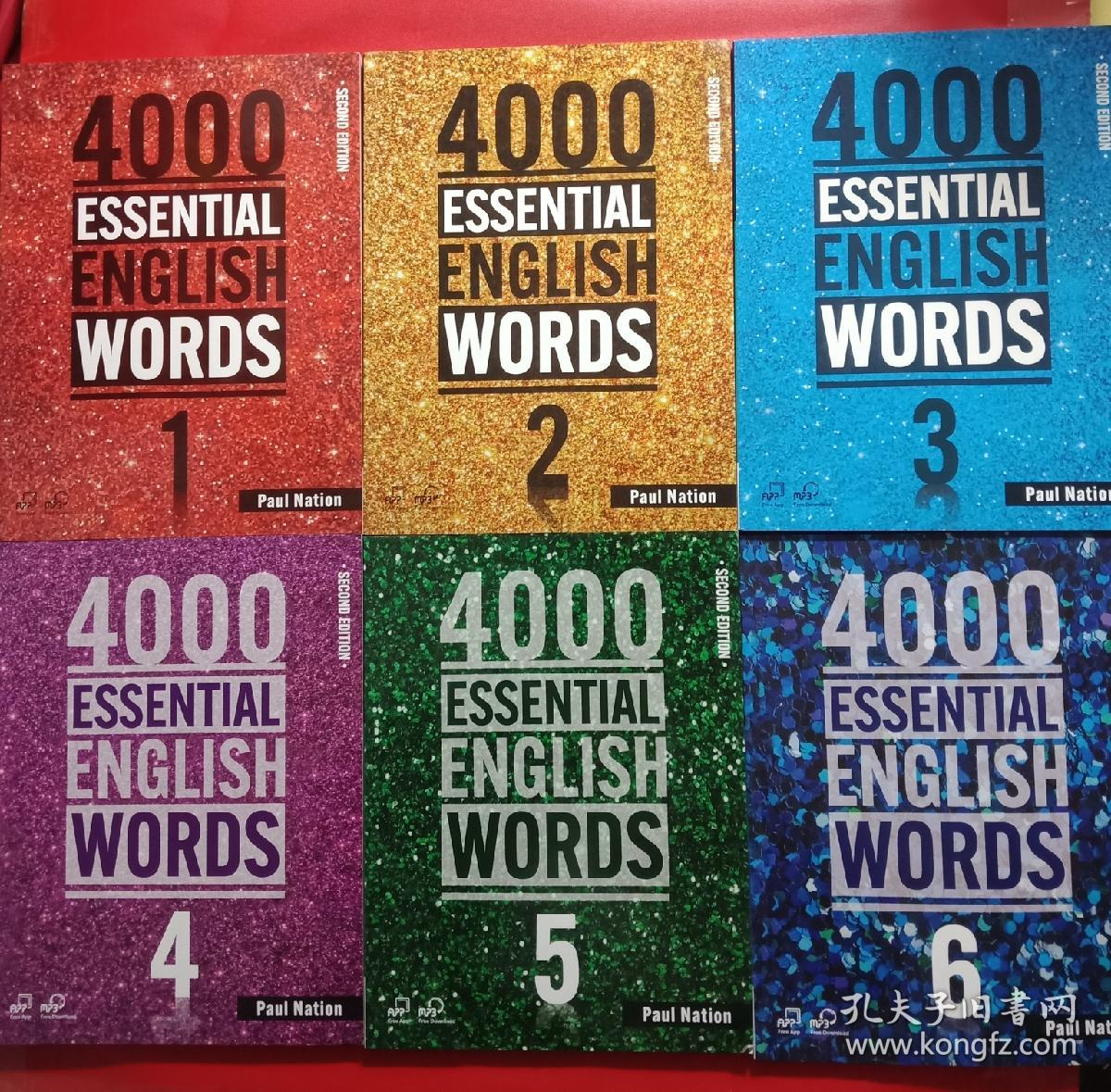 4000 Essential English Words 1-6册 实用英语单词