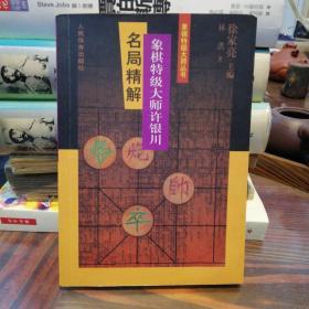 象棋特级大师许银川名局精解   1999年一版一印
