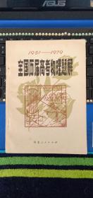 1951-1979全国历届高考物理题解