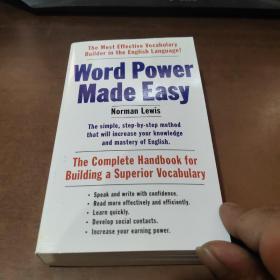 Word Power Made Easy文字的力量变得容易了