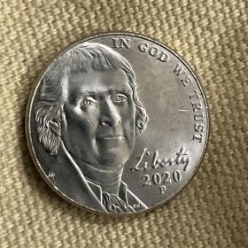 美元硬币 five cents 少见