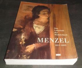 底部浸水 2手德文 Adolph Menzel 1815-1905 门采尔 xkc31