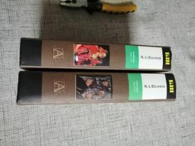 俄文原版书:  《静静的顿河》两册全,精装,2004年出版