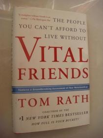Vital Friends: The People You Can't Afford to Live Without  精装16开+书衣 近全新