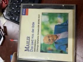 CD MAHLER DAS LIED VON DER ERDE........... 1碟