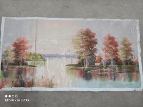 油画1.2mX0.6m