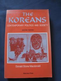 The Koreans: Contemporary Politics and Society  美国1990年印刷 英语原版