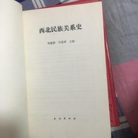 西北民族关系史