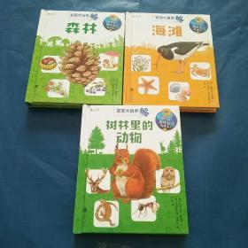 发现大自然,森林 海滩 树林里的动物(三册合售)