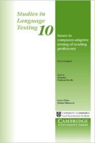 Issues in Computer-Adaptive Testing of Reading P