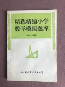 精选精编小学数学模拟题库
