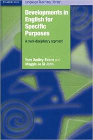 Developments in English for Specific Purposes:A Multi-Disciplinary Approach (Cambridge Language Teaching Library)