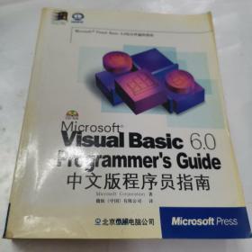 VISUAL BASIC 6.0中文版程序员指南