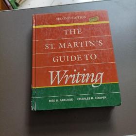 英文原版:THE ST.MARTIN'S GUIDE TO Writing圣马丁写作指南