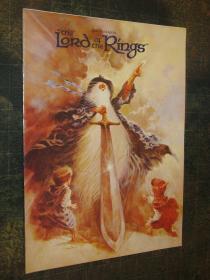预售魔戒1978年动画版电影纪念手册Lord of the Rings 1978 animatedfilm