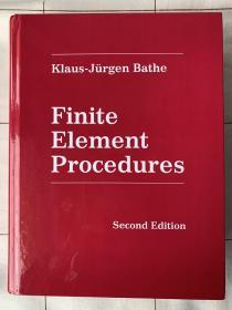 预订 Finite Element Procedures  英文原版 有限元法: 理论、格式与求解方法 Klaus-Jürgen Bathe 工程分析中的有限元法 有限元分析中的数值方法