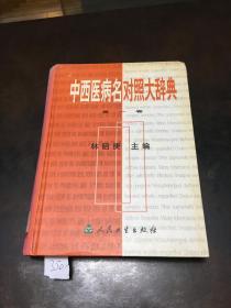中西医病名对照大辞典 第一卷