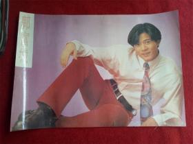 九十年代明星专辑海报《粉色郭富城》51*37cm
