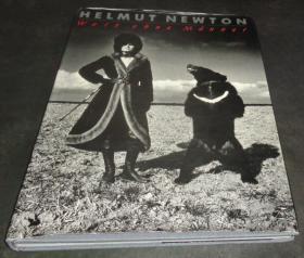 2手德文 Helmut Newton: World without Men 赫尔穆特·牛顿 xkc35