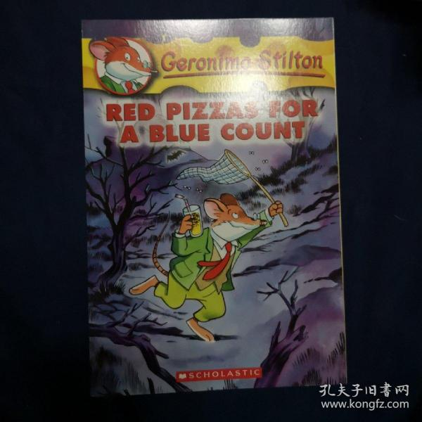 Geronimo Stilton #7: Red Pizzas for a Blue Count  老鼠记者系列7:忧郁伯爵的红披萨